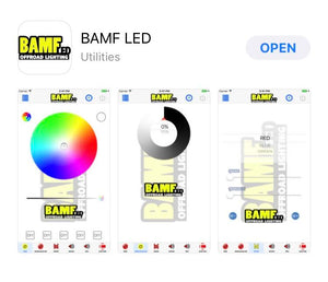 BAMF RGBW ROCK LIGHT KIT W/ BT CONTROLLER 24LED PER POD