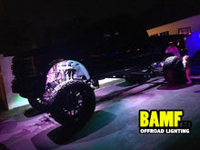Load image into Gallery viewer, BAMF RGBW ROCK LIGHT KIT W/ BT CONTROLLER 24LED PER POD