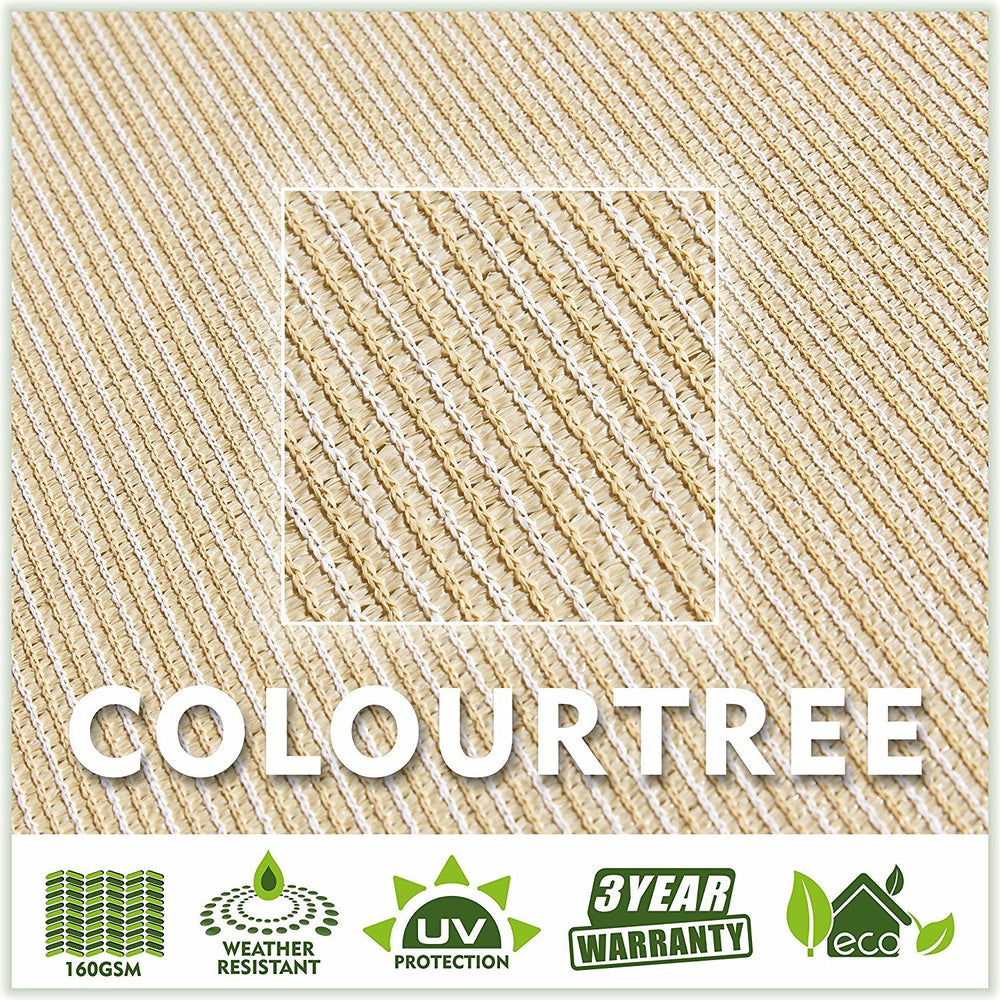 Load image into Gallery viewer, Square Sun Shade Sail (Custom Size Made to Order) - ColourTree