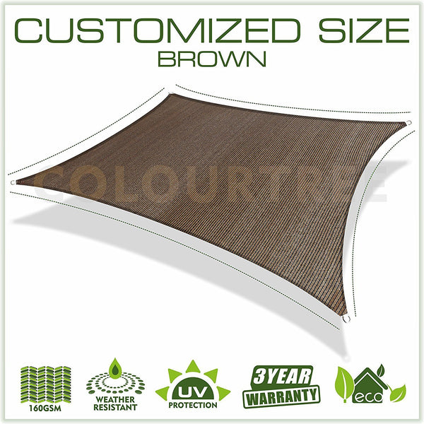 Square Sun Shade Sail Custom Size Order to Make - Colourtree inc