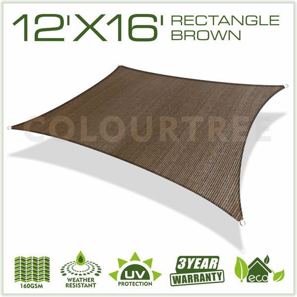 Rectangle Sun Shade Sail Custom Size Order to Make - ColourTree