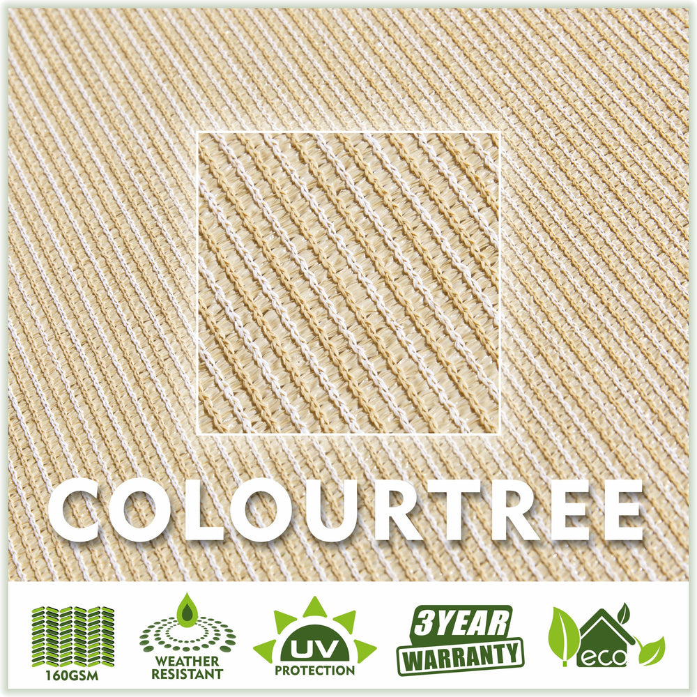 Load image into Gallery viewer, Rectangle Sun Shade Sail (Custom Size Made to Order) - ColourTree