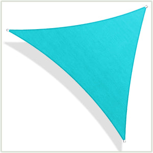 Load image into Gallery viewer, Equilateral Triangle Sun Shade Sail Canopy, Commercial Grade, 8 Sizes, 8 Colors - ColourTree