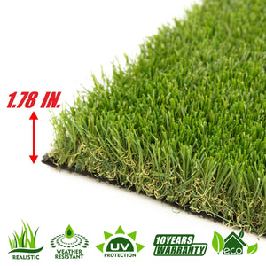 Autumn Artificial Turf Faux Grass Mat Lawn Rug - Indoor and Outdoor - ColourTree