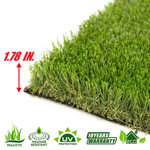 Autumn Artificial Turf Faux Grass Mat Lawn Rug - Indoor and Outdoor