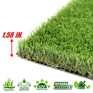 Summer Artificial Turf Faux Grass Sample - ColourTree