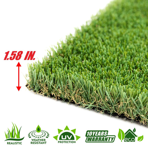 Summer Artificial Turf Faux Grass Mat Lawn Rug - Indoor and Outdoor - ColourTree