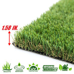 Corgi Artificial Turf Faux Grass Mat Lawn Rug - Indoor and Outdoor - ColourTree