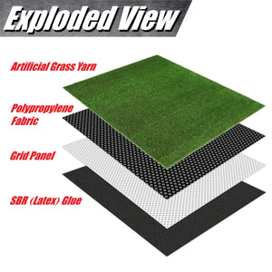 Load image into Gallery viewer, Mastiff Artificial Turf Faux Grass Mat Lawn Rug - Indoor and Outdoor - ColourTree