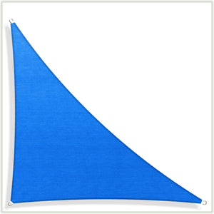 Load image into Gallery viewer, Right Triangle Sun Shade Sail Canopy, Commercial Grade, 4 Sizes, 7 Colors - ColourTree