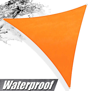 Load image into Gallery viewer, Triangle Waterproof Outdoor Sun Shade Sail (Custom Size Made to Order) - ColourTree
