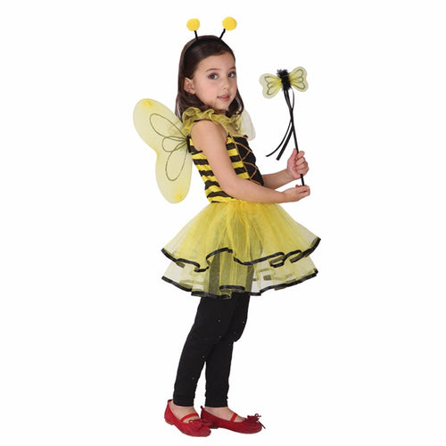 bumble bee princess costume for children