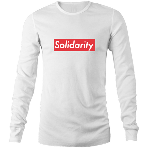 Solidarity Mens Long Sleeve T-Shirt
