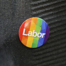 Rainbow Labor Badge