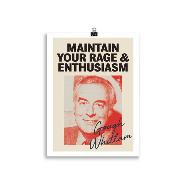 Gough Whitlam Poster