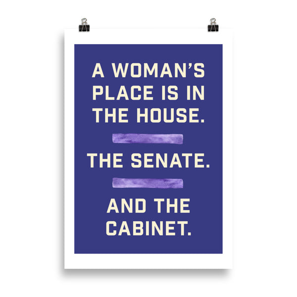 A Woman's Place Poster