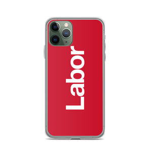 Labor iPhone Case