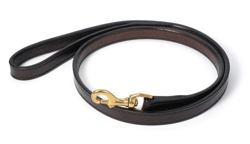 Stiched Leather 6' Dog Leash