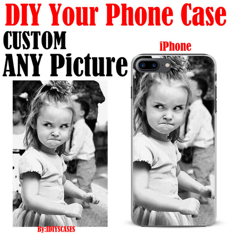 Design Custom Photo Phone Case For Apple iPhone 8 7S 7SPlus 7 Plus 6SPlus 6S 6Plus 6 5 5S SE 4S 4