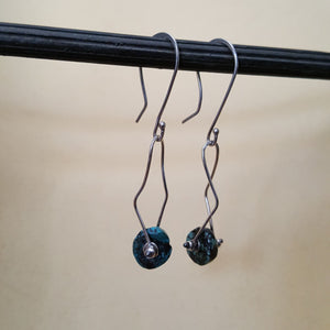 Dancing Turquoise Earrings - Blue Hill Jewelry