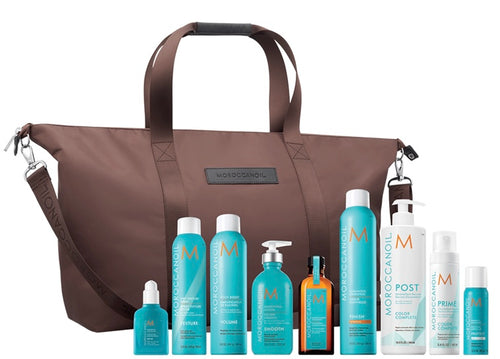 Morrocan oil duffle gift bag bundle