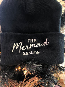 The Mermaid SEAlon Beanie * Color Changing Thread*