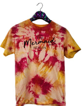 Tie-Dye Shirt Warm Colors