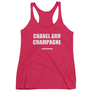 CHANEL AND CHAMPAGNE - Women's tank top