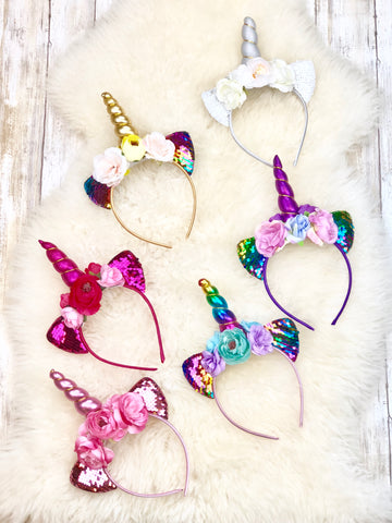 Unicorn Headband - 6 Colors