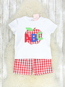 ABC Red & White Checked Outfit