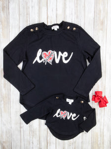 "Mom & Me ""Love"" Shirt"