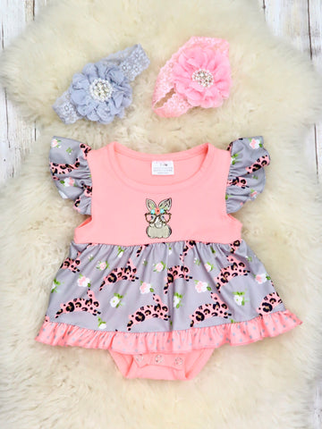 Smart Bunny Bubble Romper