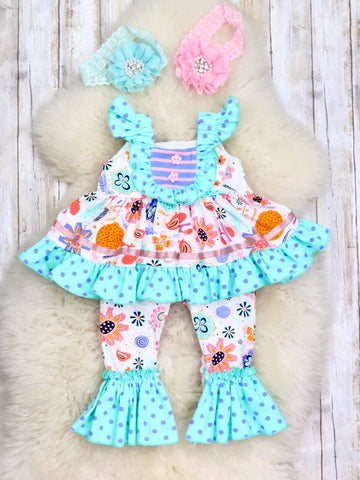Wonderland Ruffle Dress Romper