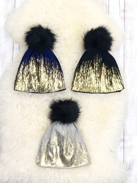 Mom & Me Shimmer Hat - 3 colors
