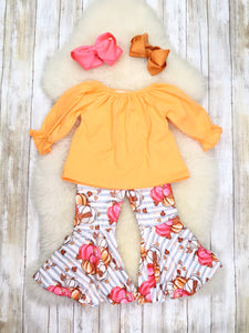 Pumpkin Patch Bell Bottom Outfit - Restocked!