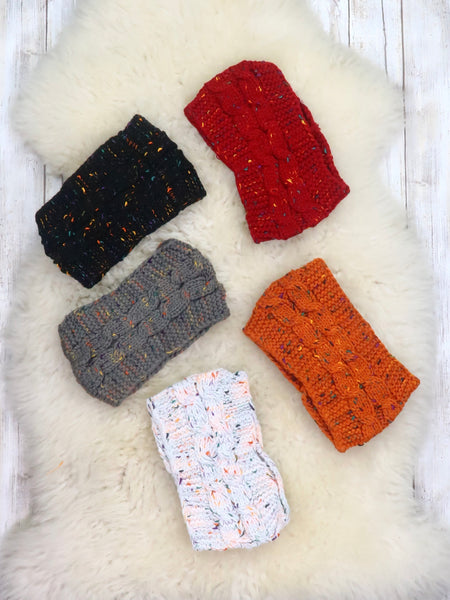 Kids Knit Headband - 5 Colors Available