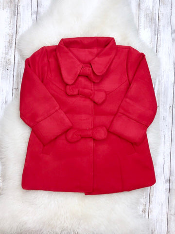 The Amelia Coat - Red