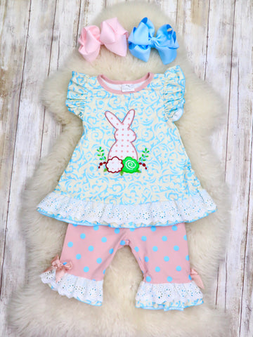 Paisley Bunny Lace Outfit