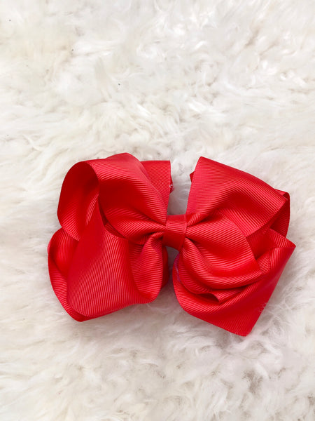 5 Inch Double Layer Bow - 69 Colors Available