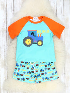WHAT THE FARM Tractor Outfit