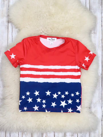 Patriotic Stars & Stripes T-Shirt
