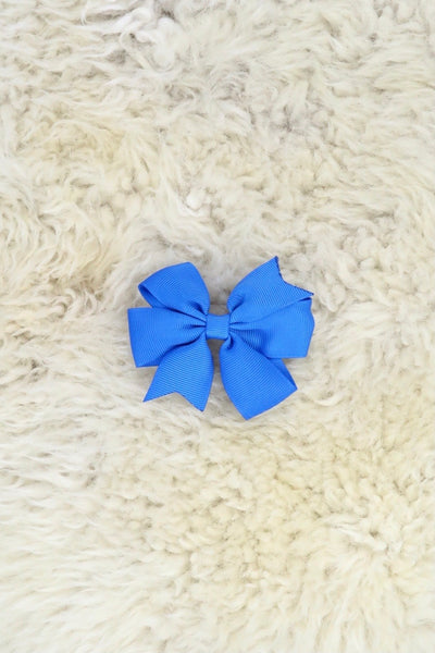 3 Inch Ribbon Bow with Alligator Clip- 40 colors available.