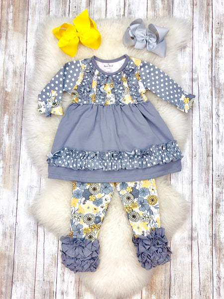 Smokey Floral Icing Outfit - Preorder Ships Nov 11th