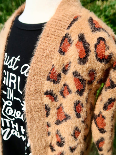 Mom & Me Leopard Cardigan