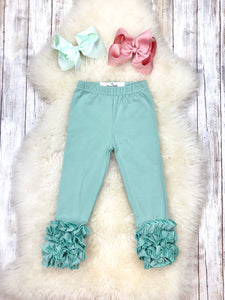 Cotton Icing legging - Mint Julep