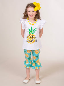 Aloha Beaches Pineapple Outfit