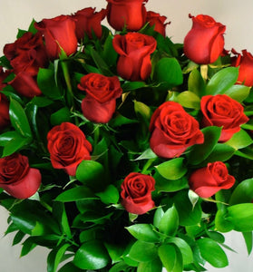 2 Dozen Red Roses Bouquet - Flowers of Phillip Island