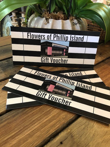 Store Vouchers - Flowers of Phillip Island