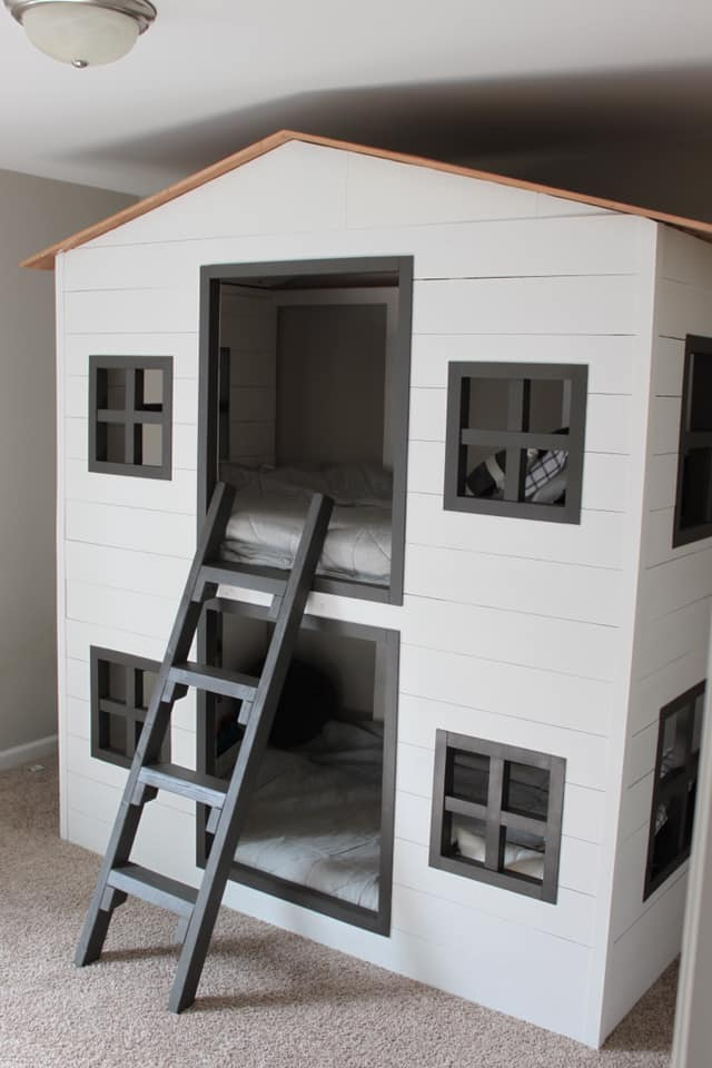 Custom Bunk Bed House