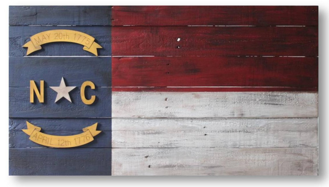 NC on Reclaimed | 36x20